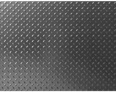 Hot Racing ACC1818DP 1/10 Scale Aluminum Diamond Plate (2) - Titanium Grey