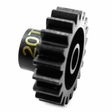 Hot Racing NSG20M1 20T Steel Mod 1 Pinion Gear 5mm