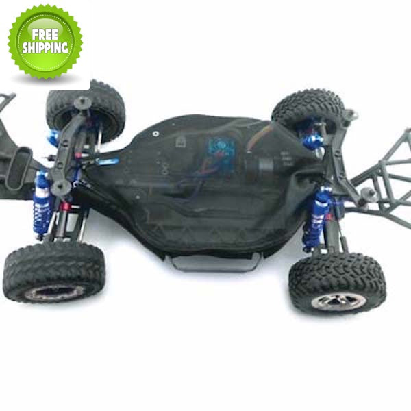 Hot Racing SLF16C06 Water Repellent Chassis Dirt Guard Cover: Traxxas Slash 4x4