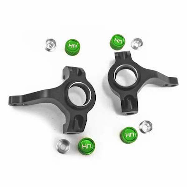 Hot Racing SCP2101 Aluminum Steering Knuckle Set: Axial SCX10 & AX10 Scorpion