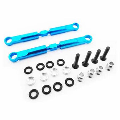 Hot Racing ECT5406 Blue Alum 72mm Front Turnbuckles: ECX Circuit, Torment,Ruckus