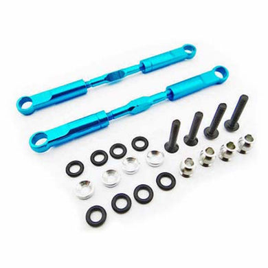 Hot Racing ECT5706 Blue Alum 89mm Rear Turnbuckles: ECX Circuit, Torment, Ruckus