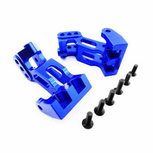 Hot Racing YET16A06 Blue Aluminum Lower 4-Link Mount: Axial 1/10 Yeti