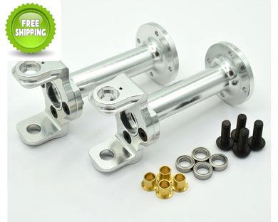 Hot Racing CB20E08 Aluminum Axle Tube Kit - Tamiya Clod Buster