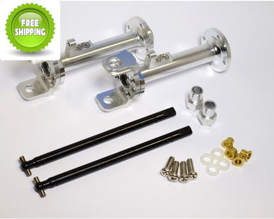 Hot Racing CB20EL08 Wide Axle Kit - Tamiya Clod Buster