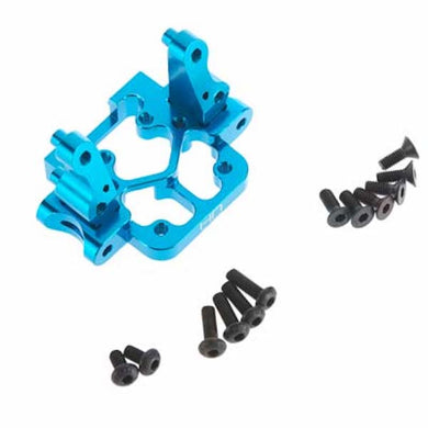 Hot Racing ECT0806 Aluminum Front Suspension Mount Blue 1/10 2WD