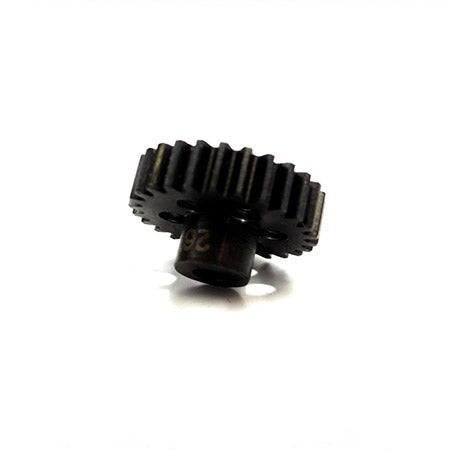 Hot Racing NSG26M1 26t Steel Mod 1 Pinion Gear 5mm