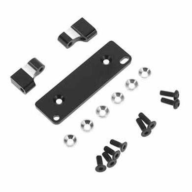 Hot Racing RRT2401 Black Aluminum Servo Mount AX10/RR10/SMT10/Wraith