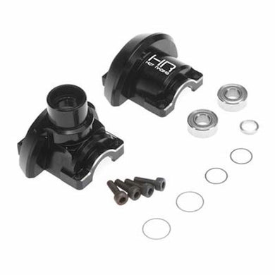 Hot Racing RVO11MX01 Black Heavy Duty CNC Aluminum Outer Diff Case: Traxxas Revo 3.3