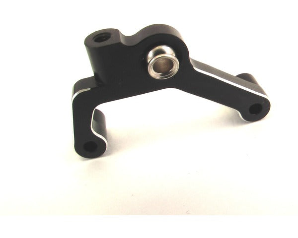 Hot Racing SCP0801 Black Aluminum Upper Link Mount Ax10