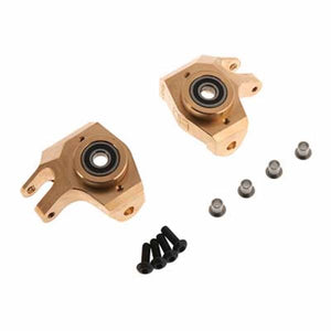 Hot Racing SCXT21HM Brass Heavy Metal HD Bearing Front Knuckle SCX