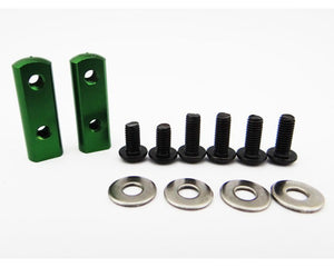 Hot Racing SH24M05 90 Degree Universal Servo Mount - Green