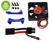 Hot Racing XMX505F06 Monster Blower Fan Blue X-Maxx