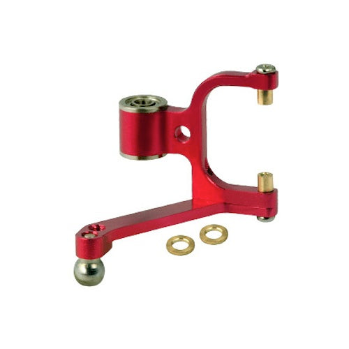 MicroHeli MHE-300X126 Red Aluminum Tail Pitch Lever: Blade 300 X