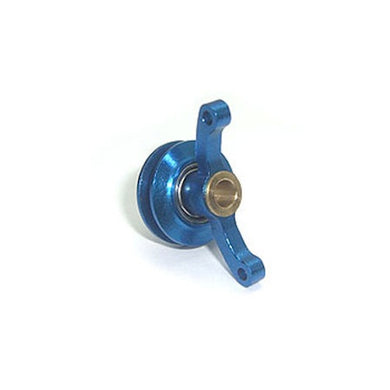 MicroHeli MHE-B4193B Precision CNC Tail Pitch Slider, Blue: Blade 400