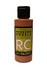 Mission Models MMRC-009 Water-Based RC Paint, 2oz Bottle, Beige