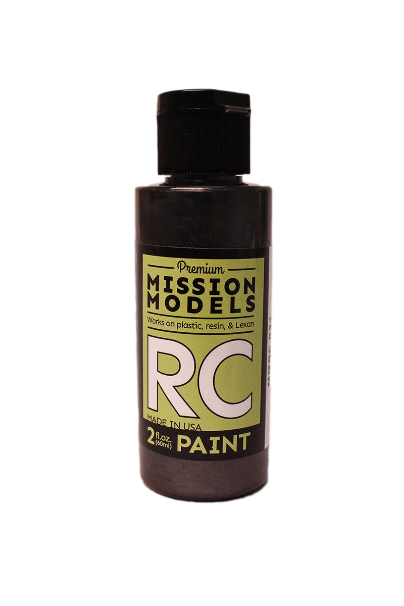 Mission Models MMRC-021 Water-Based RC Paint, 2oz Bottle, Pearl Charcoal