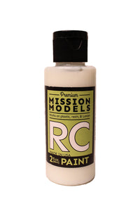 Mission Models MMRC-041 Water-Based RC Paint, 2oz Bottle, Clear