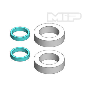 MIP 15109 1/5 MIP Quick Fill, Mipple Filter Set (2)