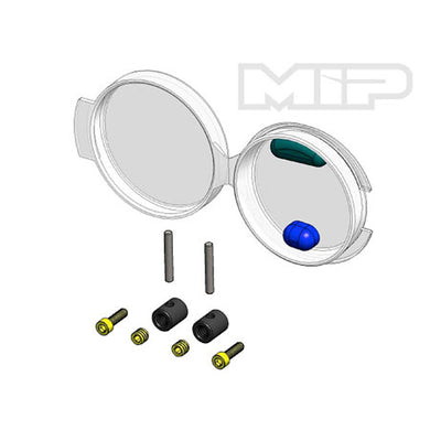 MIP 17070 CVD Coupling Rebld Kit B-Metal Bones:TLR 22 4.0