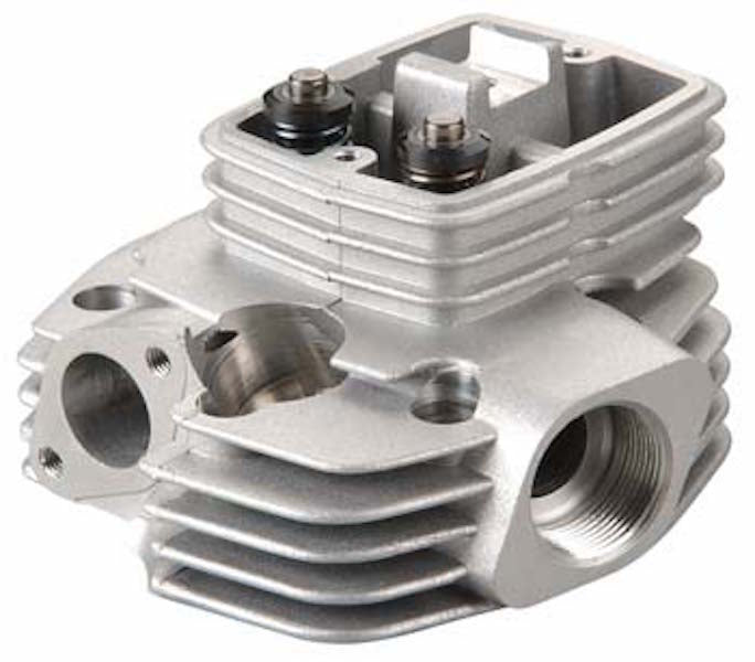 OS 15504030 Cylinder Head Assembly FS-120 III