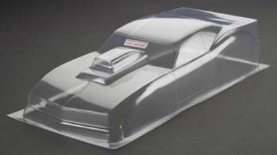 RJ Speed RJS1019 Clear Unpainted Cam Pro Mod Body 1/8-1/10 - 10.5