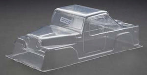 RJ Speed RJS1032 Clear Unpainted 1/10 80's Crawler Pickup Body: Axial