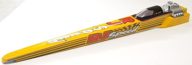 RJ Speed RJS1067 Clear Unpainted - T/F Dragster 2006 - 30