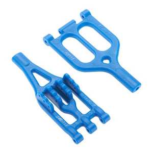 RPM 70045 Blue Upper(1) & Lower(1) Suspension A-Arms: Associated Monster GT