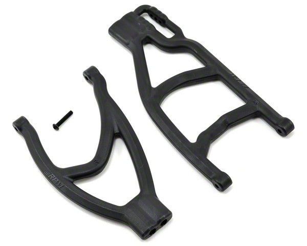 RPM 70482 Black Extended Right Rear A-Arms: 1/10 Traxxas Summit, Revo & E-Revo