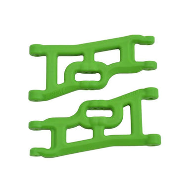 RPM 70554 Green Off-Set Compensating Front A-Arms: Traxxas 1/10 Slash 2wd