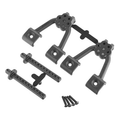 RPM 70702 Rear Shock Hoops/Body Mounts: Axial SCX10