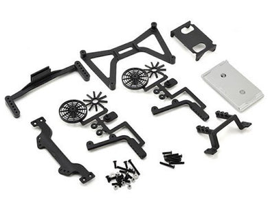 RPM 70860 No Clip Body Mounts: Traxxas Slash 2wd