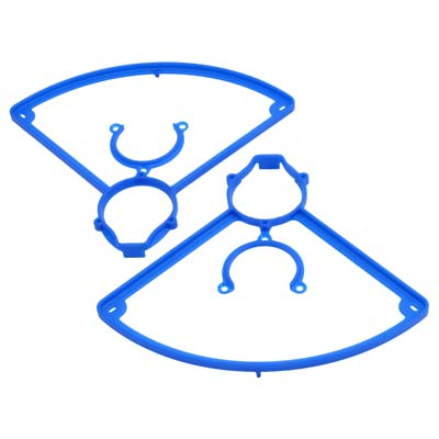 RPM 72045 Blue Propeller / Prop Guards (Pair): LaTrax Alias