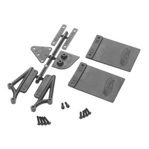 RPM 73032 Mud Flap/Number Plate Kit for RPM #73112 Rear Bumper: Losi Ten-SCTE