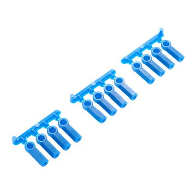 RPM 73375 Blue Heavy Duty .168 Ball Cup Rod Ends(12) 4-40 Thread: Losi
