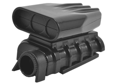 RPM 73412 Black Mock (Non-Functional) Intake and Blower Set: 1/8 1/10 Vehicles