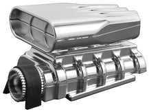RPM 73413 Chrome Mock (Non-Functional) Intake and Blower Set: 1/8 1/10 Vehicles