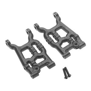 RPM 73552 Front Black A-Arms: Losi 1/14 Mini 8ight 2.0