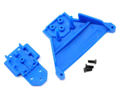 RPM 73565 Blue Front LCG Bulk-Head: Traxxas 1/10 Slash 4x4 LCG & Rally