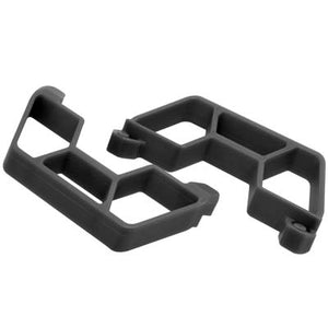 RPM 73862 Black Nerf Bars (for LCG Chassis only): 1/10 Traxxas Slash 2wd