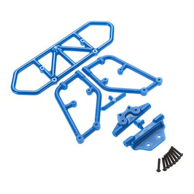 RPM 80125 Blue Rear Bumper 1/10 Slash 4x4