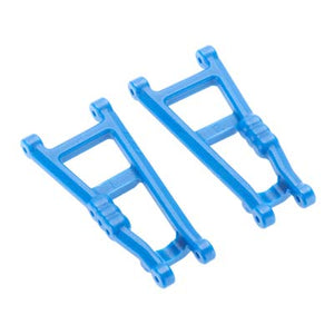 RPM 80185 Rear Suspension A-Arms (2) Blue: Rustler, Stampede VXL & XL-5/XL5