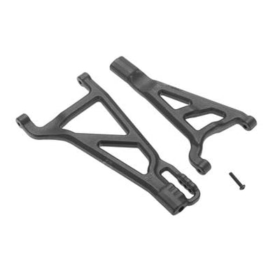 RPM 80212 Front Right Suspension A-Arms Black: Traxxas 1/10 Revo 2.5 & 3.3