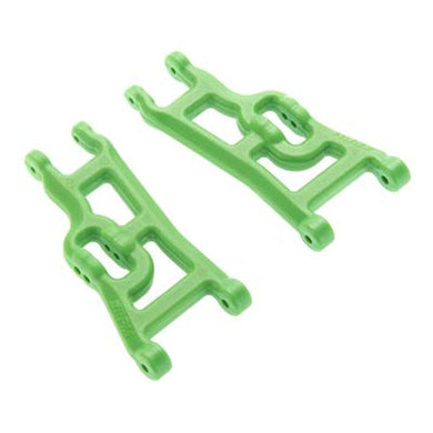 RPM 80244 Front Suspension A-Arms (2), Green: 1/10 Stampede Rustler Slash 2wd