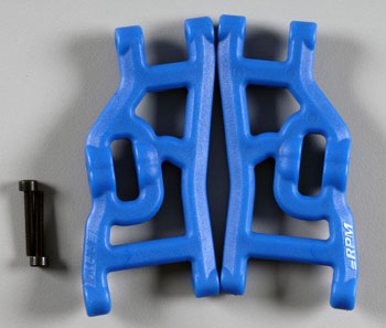 RPM 80495 Front Suspension A-Arms, Blue: Traxxas Nitro Stampede