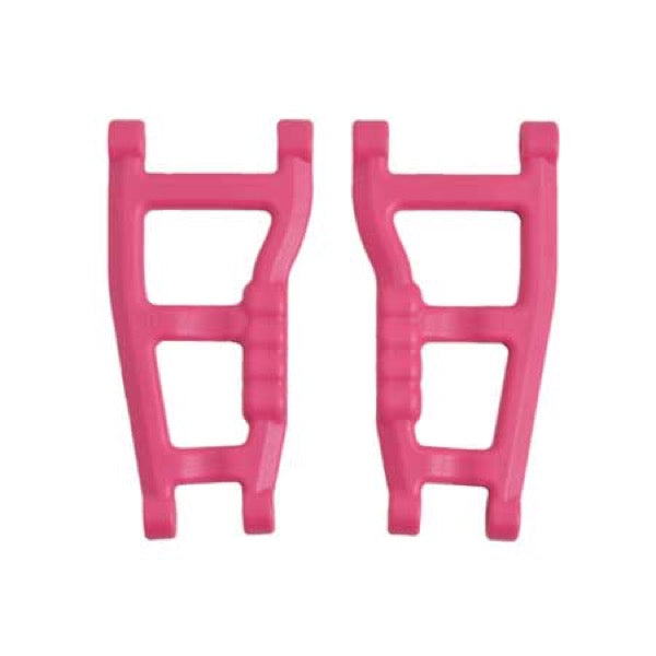 RPM 80595 Rear Suspension A-Arms, Pink: 1/10 Traxxas Slash 2wd