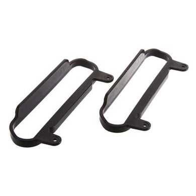 RPM 80622 Nerf Bars (2) Black: 1/10 Slash 4x4 & Slash 2wd