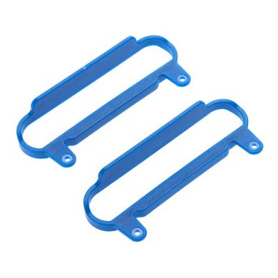 RPM 80625 Nerf Bars (2) Blue: 1/10 Slash 4x4 & Slash 2wd