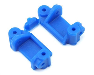 RPM 80715 Front Caster Block, Blue: Traxxas 2WD